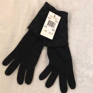 Michael Kors black gloves.